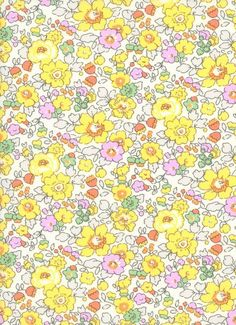 Items similar to Liberty of London Yellow BETSY W Yellow Liberty Tana Lawn Fabric Fat Quarter Half Metre Full Metre From the Liberty Classic Collection on Etsy Colorfull Wallpaper, Hello Wallpaper, The Strawberry Thief, Liberty Art Fabrics, Lawn Fabric, Liberty Of London, Kids Prints, Classic Collection, Pattern Wallpaper