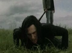 It seems like there are a lot of scenes in this movie were Loki is always falling down and I don't like that.