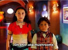They said this on the last spy kids movie. I was in shock and they barely covered it up