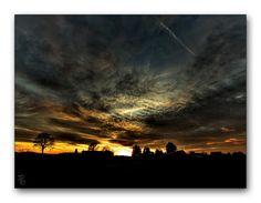 Oldrobel's Fotoreise: the last glow of the sunset