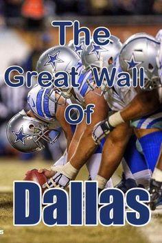 Build that Wall Dallas Cowboys Quotes, Dallas Cowboys Football, Football Team, How Bout Them Cowboys, Funny Me, Messages, Baseball Cards, Longhorns, Fans