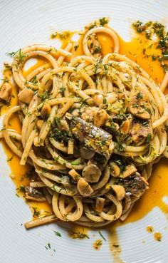 Weight Loss Diet Plan For Housewife Tinned Sardines Recipe, Sardine Pasta Recipe, Sardine Recipes Canned, Easy Pasta Recipes, Veggie Recipes, Fish Recipes, Seafood Recipes, Cooking Recipes, Deserts
