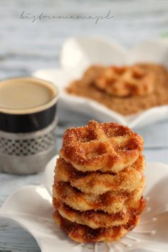 Cake Cookies, Love Food, Sweet Recipes, Donuts, Waffles, Food And Drink, Keto, Yummy Food, Sweets