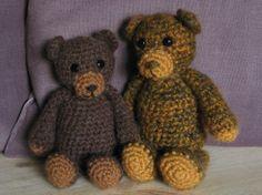 Free Crochet Animal Patterns | Bear ☺ Free Crochet Pattern ☺ | Crochet Animals...