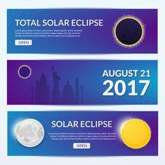 Eclipce vector illustration