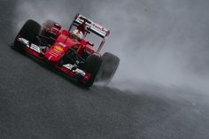 Ferrari at the 2015 Formula One Japanese Grand Prix
