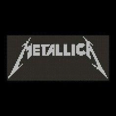 Metallica perler beads