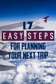 This step-by-step travel checklist will take away the stress of planning and make sure you don't miss anything as you plan your great adventure overseas.