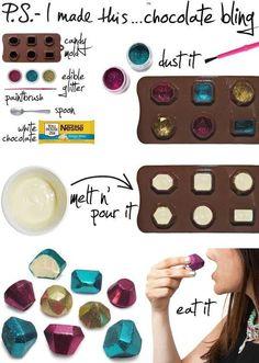 Chocolate jewels!