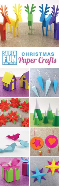 12 Christmas paper crafts