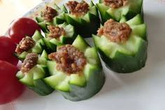 Morokyu (Cucumber with Moromi Miso) Steamboat Recipe, Japanese Food, Cucumber, Zucchini, Avocado, Vegetables, Fruit, Cooking, Recipes