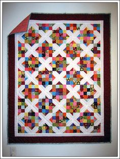 One of my favorite quilt patterns: Arkansas Crossroads Quilt by seweccentric, via Flickr