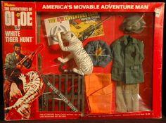 WHITE TIGER HUNT (v1), YOJOE.COM 1960s Toys, Retro Toys, Vintage Toys, Gi Joe, Big Blue Whale, Super Adventure, Cool Toys, Childhood Memories, Pop Culture