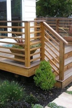 ideas about backyard deck designs on unusual patio backyard deck design ideas ideas about wood deck designs on astonishing patio design ideas 7 home outdoor deck ideas pictures Horizontal Deck Railing, Wood Deck Railing, Deck Railing Design, Porch Railings, Deck Railing Ideas Diy, Deck Stairs, Wood Patio, Decking Handrail, Porch Ideas