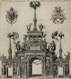 Gate of honour for Emperor Matthias (1612)