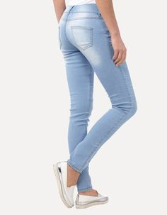 Stone Washed Jeggings