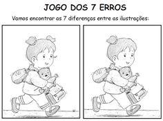 ATIVIDADES PARA EDUCADORES: Jogo dos 7 erros - Livro Camila e a volta às aulas...