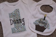 My BFF is having a baby and naming him Danny...What a cute 1st B-day idea!!!
