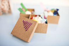 Easy Embroidered Gift Box