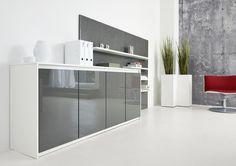 Das Aufbewahrungssystem Purline Von Febrü Steht Für Moderne  Möbelarchitektur: Griffloses Design, ästhetischer Ausdruck, Stauraum,  Sinnvoll Kombinierbar!