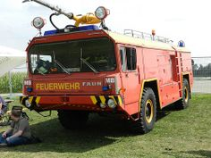 Faun Airport Fire Engine