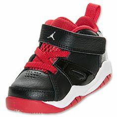32b4f8724ed930 Jordan 1 Mid Flex (TD) Baby Toddlers Shoes White Red Black Jordan ...