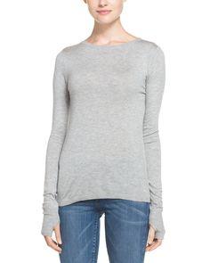 TART Cerise Grey Heather Knit Top is on Rue. Shop it now.