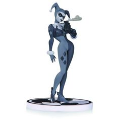 Black and White Harley Quinn 2nd Edition Statue