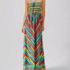 Forever 21 Smocked Maxi Dress, $29.00