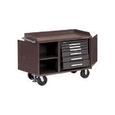 "Kennedy 48"" 6 Drawer Industrial Mobile Versa-Bench"