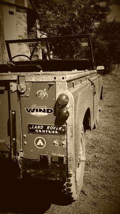 // Land Rover Serie III at La Alameda