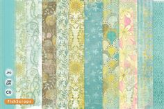 Check out Country WildFlower Digital Paper by FishScraps on Creative Market