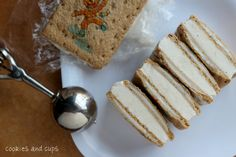 Gingerbread pop tart ice cream sandwiches (use any kind of pop tart - I'm dreaming of s'mores)
