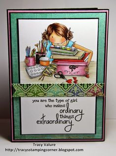 Tracy's Stamping Corner: Extraordinary Things!!