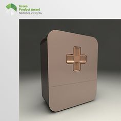 4th place Newcomers Green Product Award 2013/14, category Kids: SaluMed is a medicine cabinet with a child safety lock. A medicine cabinet for home use, which can be safely used even in the presence of children. The ordering, safety and proper storage of medication are made easier. The simple design and functional construction paired with lots of space make the closet innovative.
