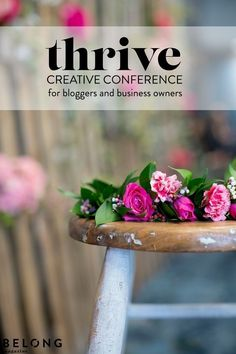 Thrive Creative Conference for female bloggers, lady business owners, women entrepreneurs featured in Belong Magazine ISSUE 05 / www.belong-mag.com/shop