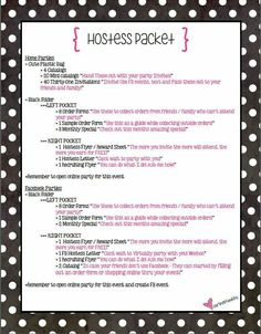 Hostess Packet