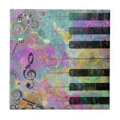 colorful piano