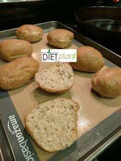Healthy Low Carb Keto Bread (Buns) | Diet Plus 4 U