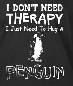 ...hug a penguin!!!