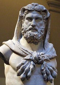 Hercules - Roman Flavian Period ; Marble