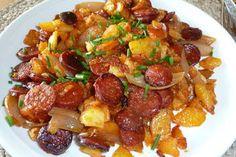 Andalusische Kartoffelpfanne mit Chorizo