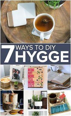 DecoArt - 7 Ways to DIY Hygge Into Your Lifestyle #decoartprojects