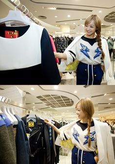 f(x)'s Victoria goes shopping in style