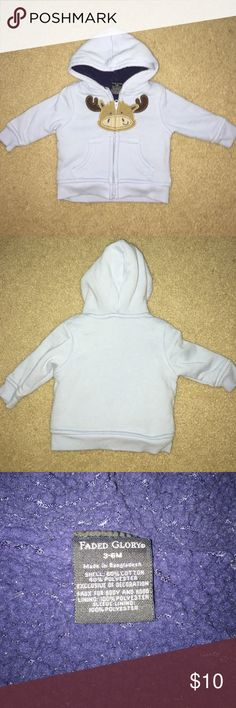Infant 3-6 months boys outer jacket Great condition keeps warm winter wear, infant boy 3-6 months. Faded Glory Jackets & Coats
