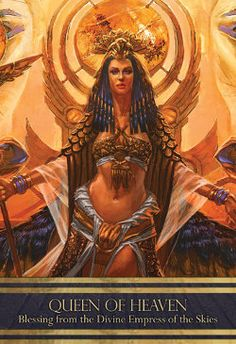 Queen of Heaven ~ Blessing from the Divine Empress of the Skies
