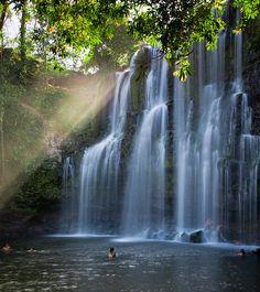 Llanos de Cortes Falls east of Liberia