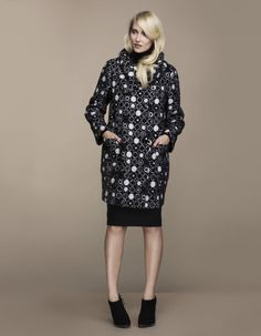 High Neck Dress, Luxury, Lady, Coat, Vintage, Dresses, Style, Fashion, Turtleneck Dress