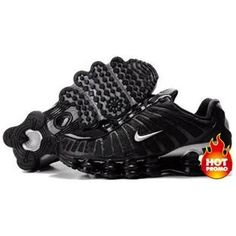5a7a7bf76644 Shop Men s Nike Shox TL Shoes Black Silver For Sale 344438 black
