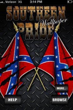Southern Pride (Rebel Flag) Wallpaper! free download for iPhone & iPad  - rebel flag wallpapers